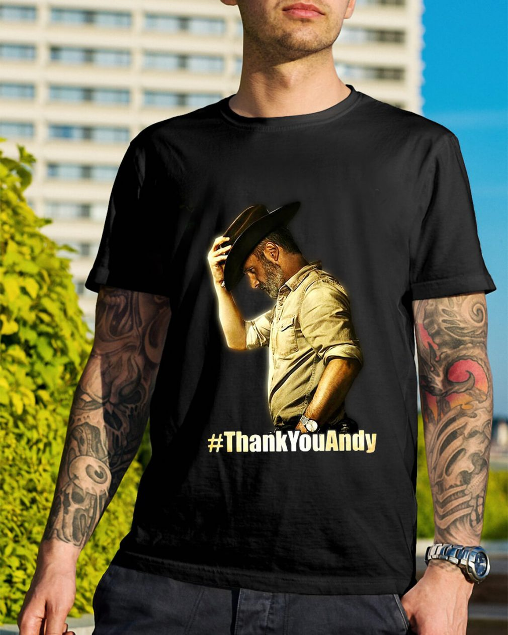 Official Thank you Andy shirt