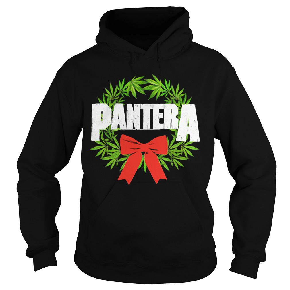 Pantera weed Christmas Hoodie