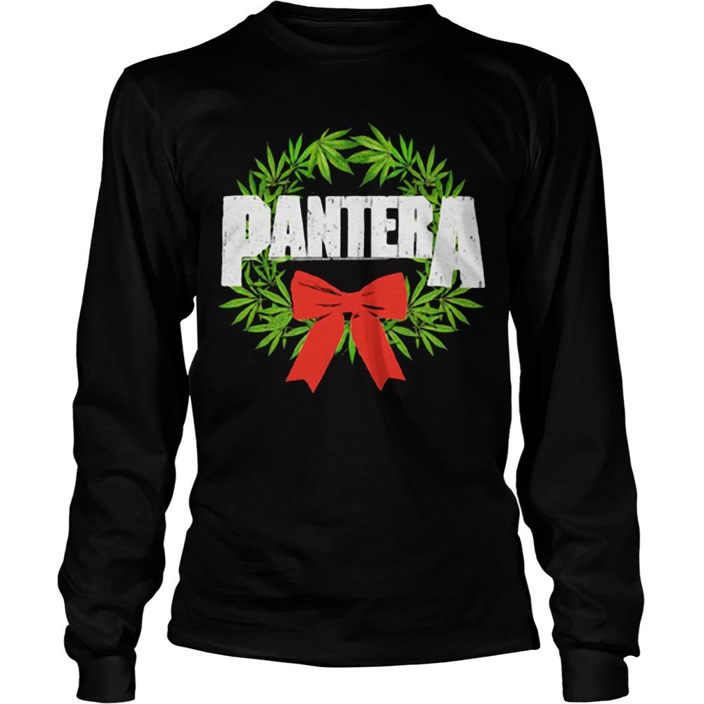 Pantera weed Christmas Longsleeve Tee