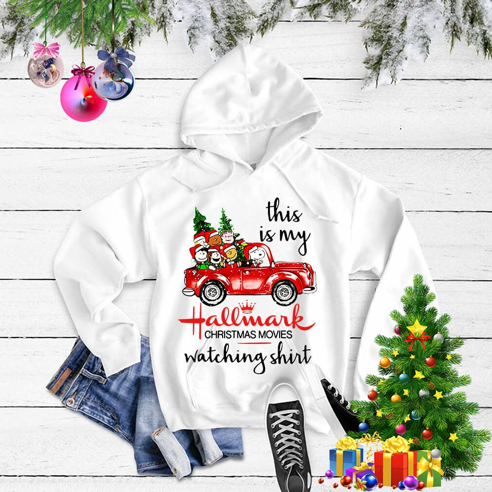 Peanuts Snoopy this is my Hallmark christmas shirt, sweater