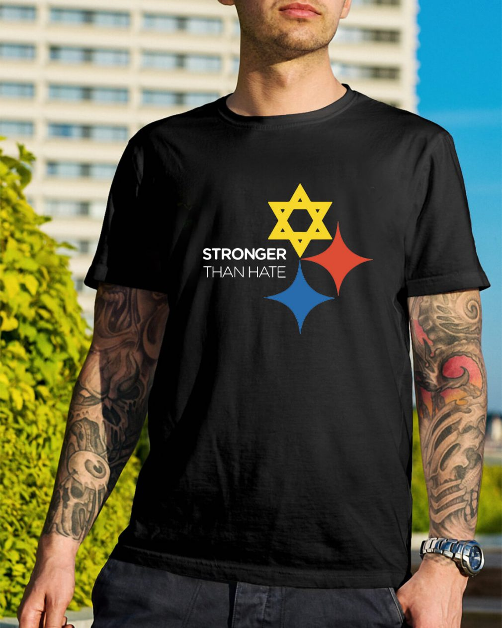 Pittsburgh stronger than hate shirt