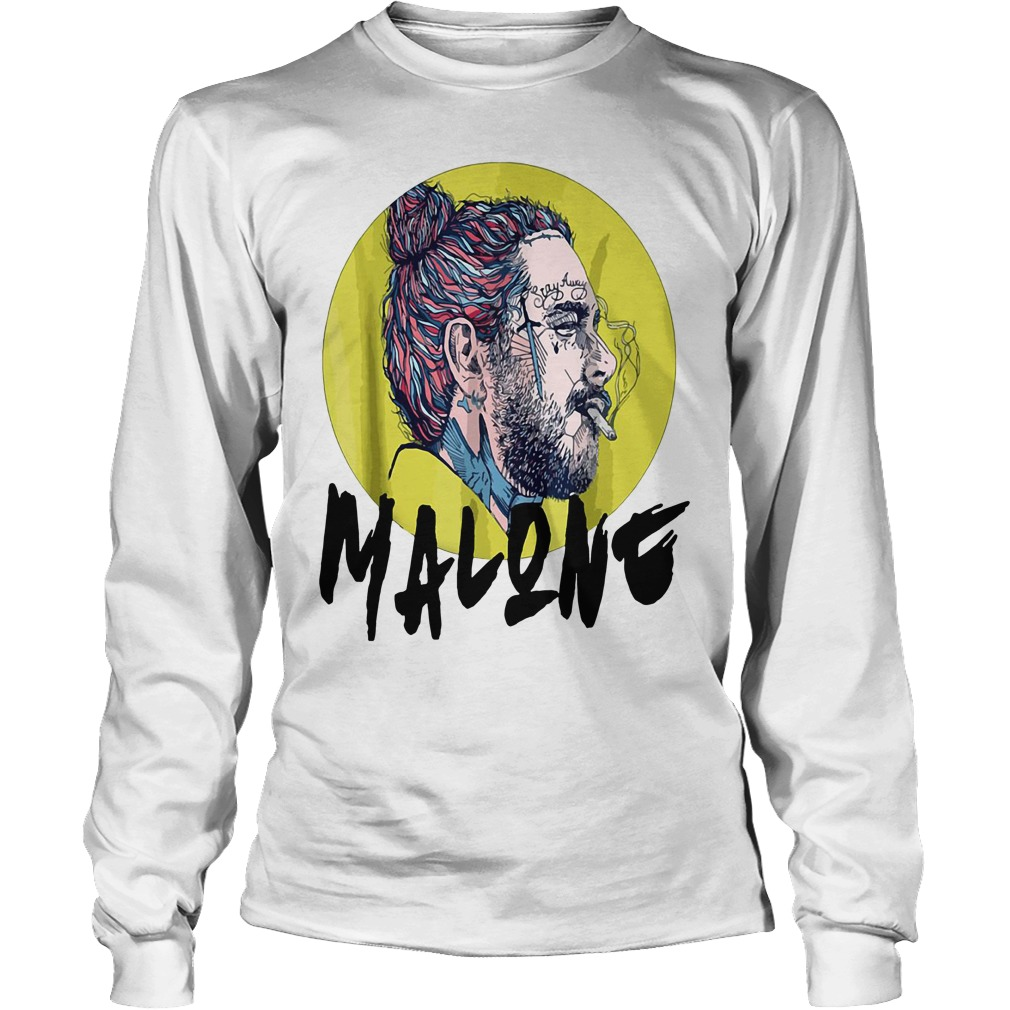 Post Malone stay away smoking Longsleeve Tee