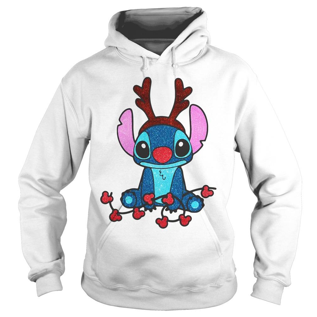 Reindeer Stitch Merry Christmas Hoodie