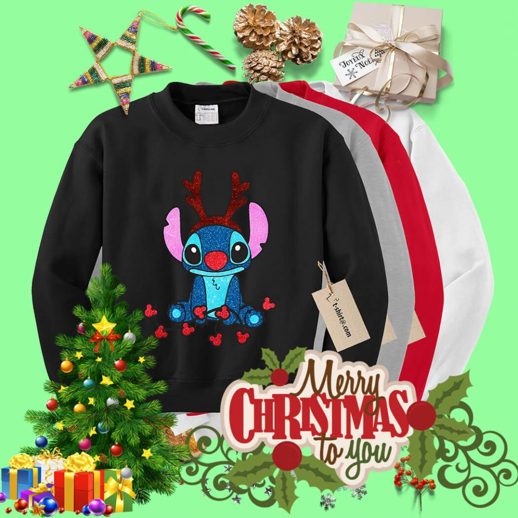 Reindeer Stitch Merry Christmas shirt, sweater