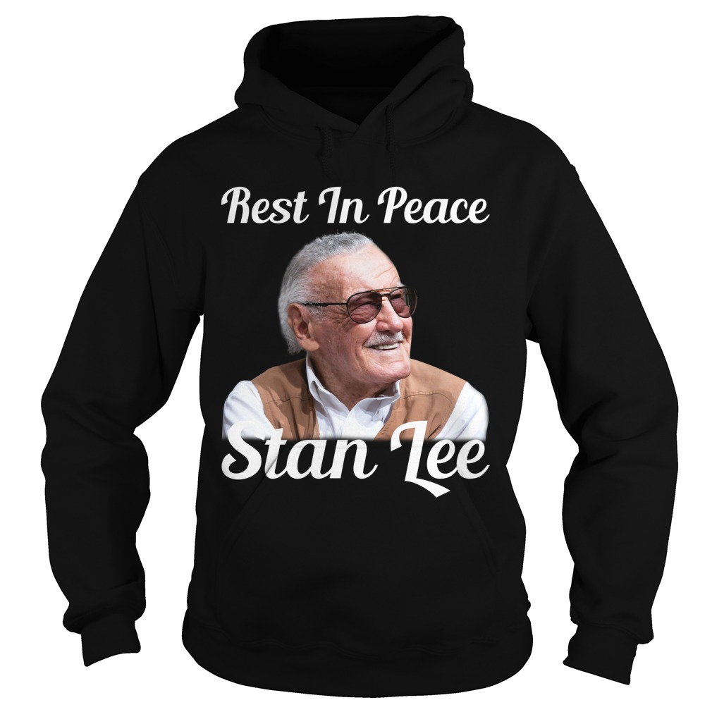 Rest in peace Stan Lee Hoodie