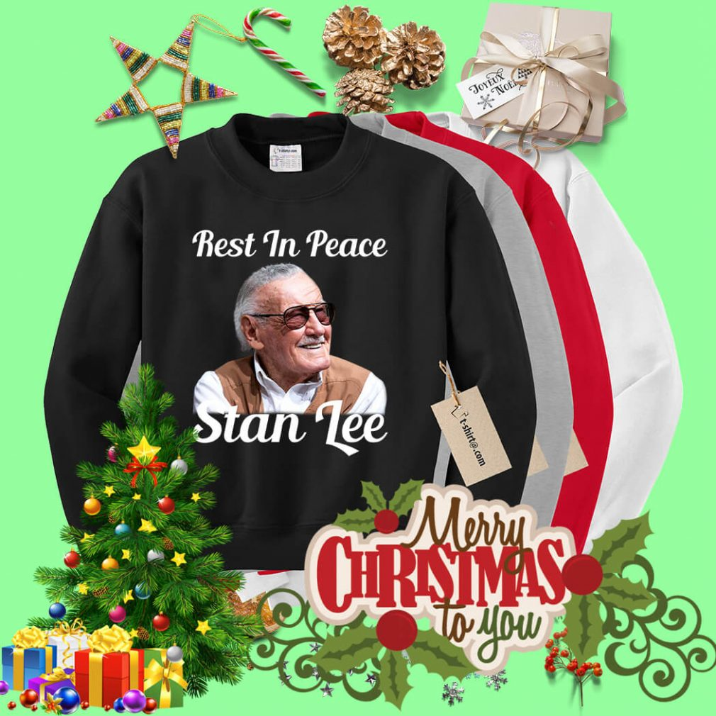 Rest in peace Stan Lee Sweater