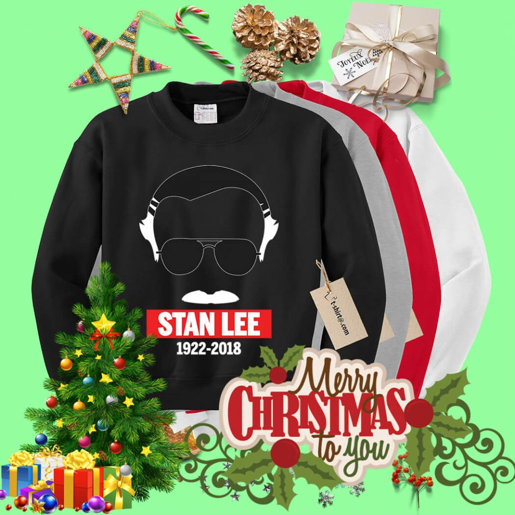 Rip Stan Lee in white 1922-2018 Sweater