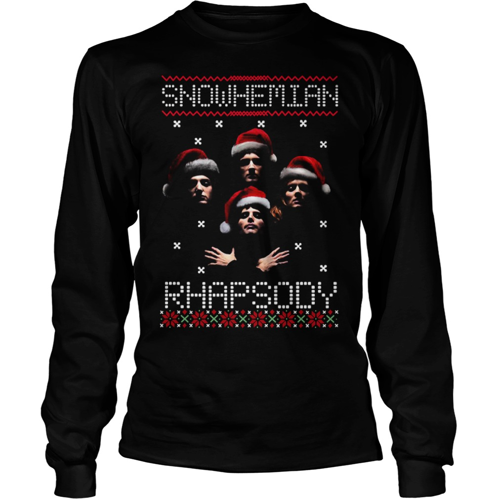 Snowhemian Rhapsody ugly Christmas Longsleeve Tee