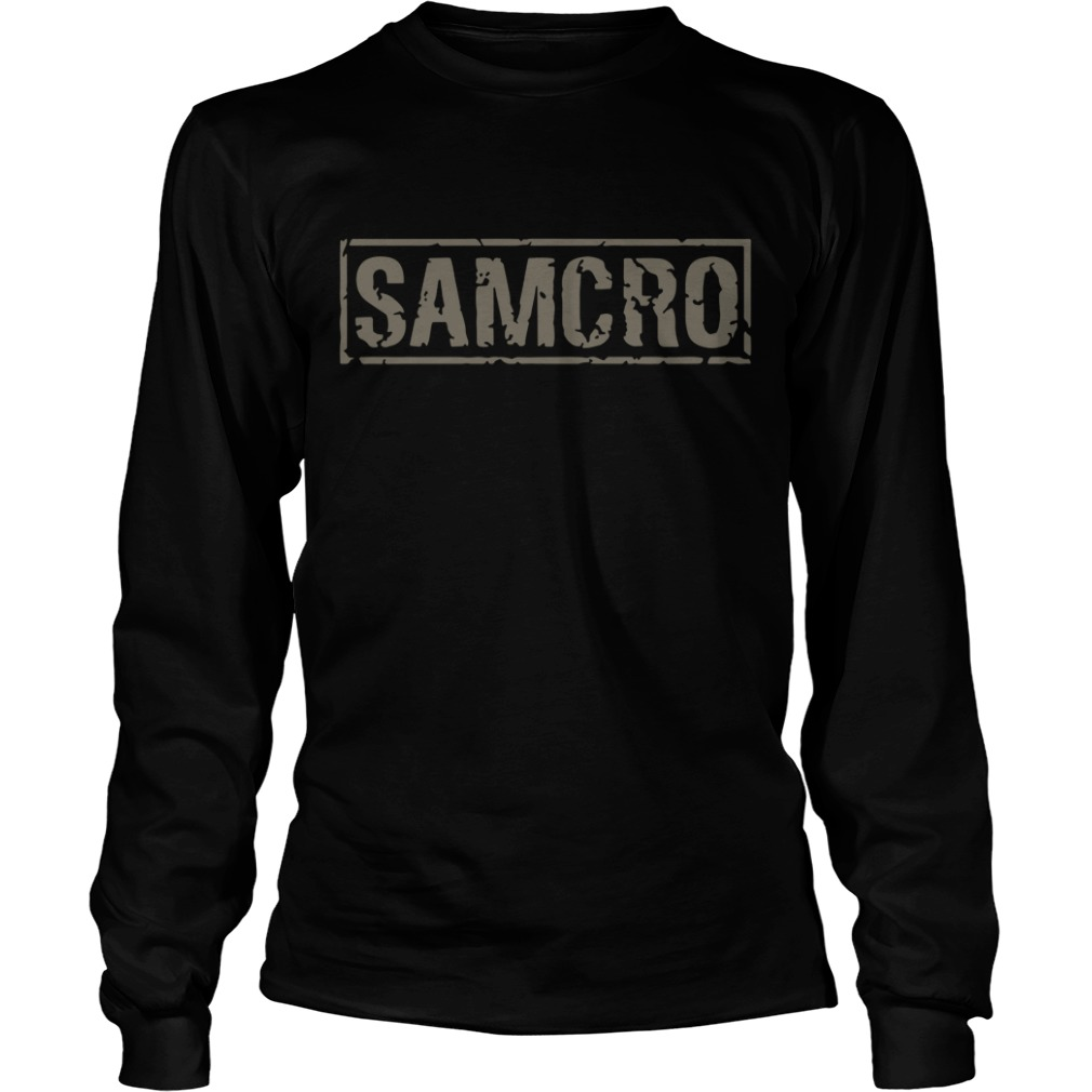 Sons of Anarchy Samcro Longsleeve Tee