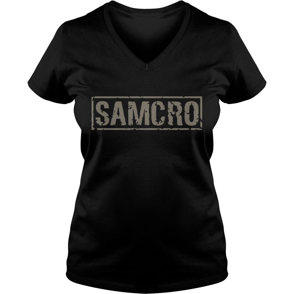 Sons of Anarchy Samcro V-neck T-shirt