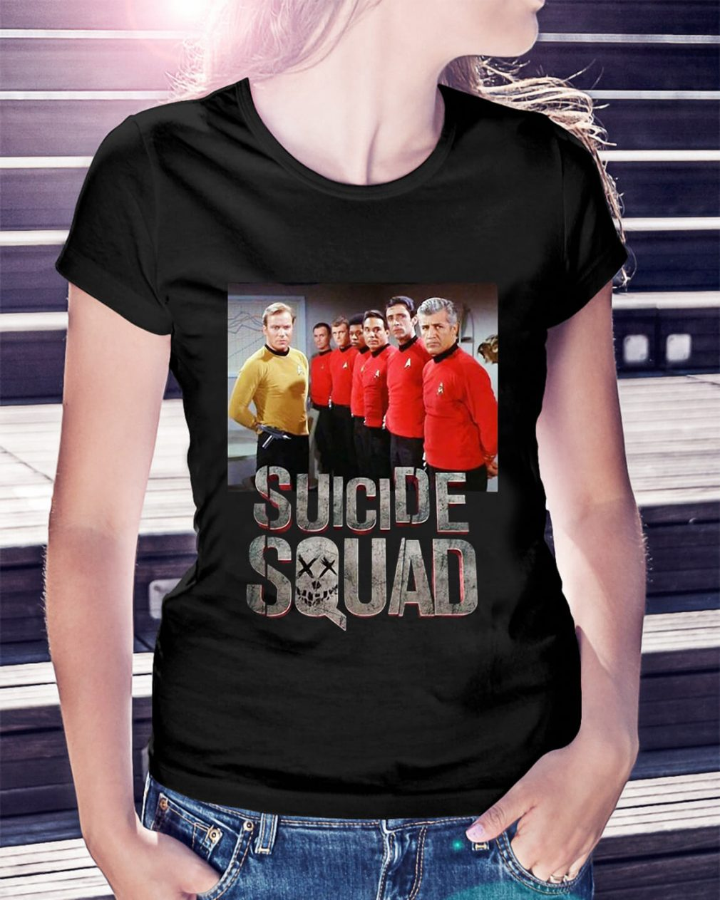 Star Trek Suicide Squad Ladies Tee
