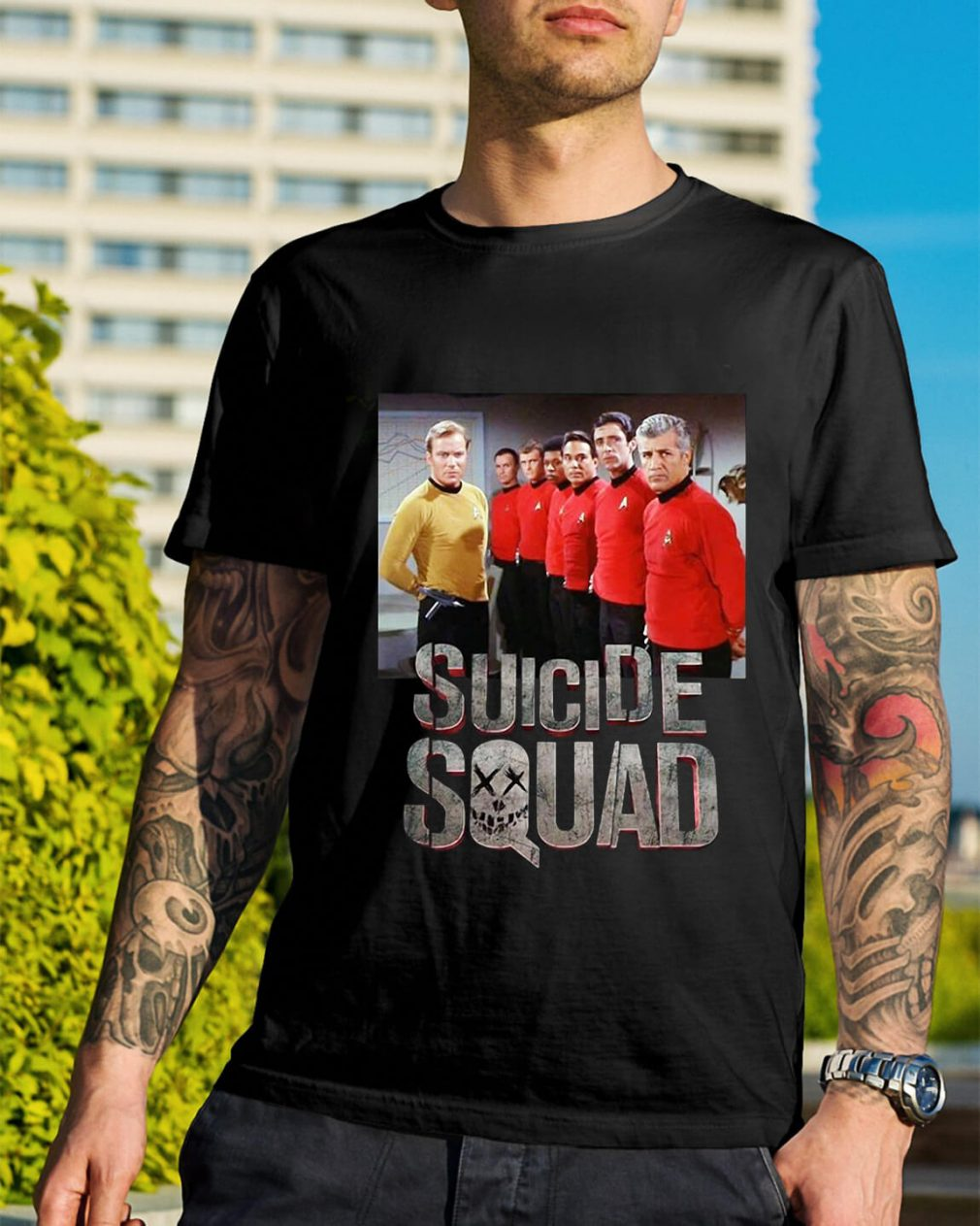 Star Trek Suicide Squad shirt