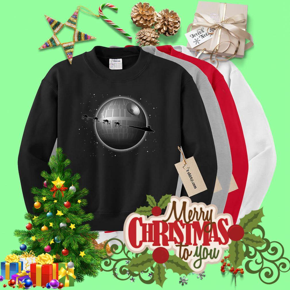 Star Wars Battlefront Star Destroyer and Death Star Sweater