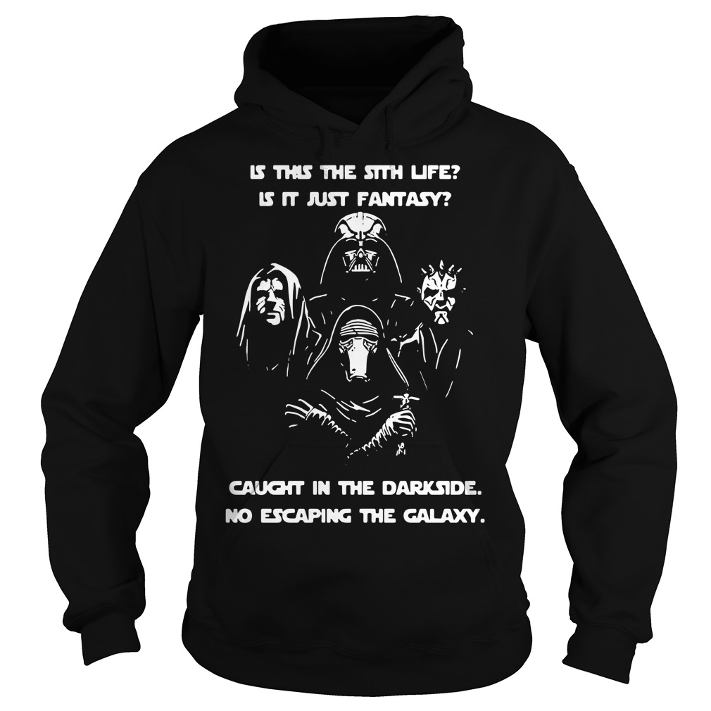 Star Wars is this the Sith life is it just fantasy caught in the dark side Hoodie