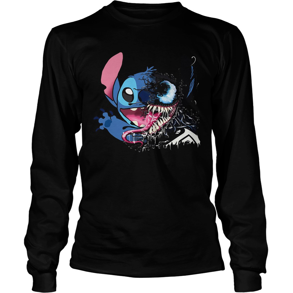 Stitch Venom we are Venom Longsleeve Tee