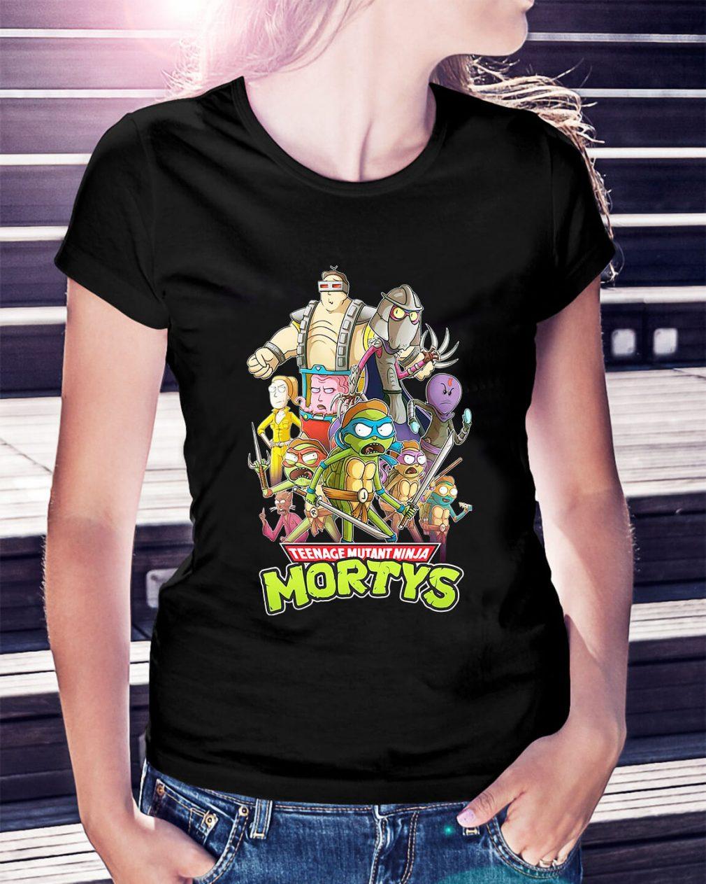 Teenage mutant ninja Mortys Ladies Tee