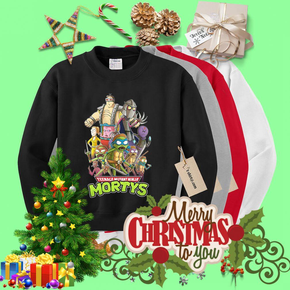 Teenage mutant ninja Mortys Sweater