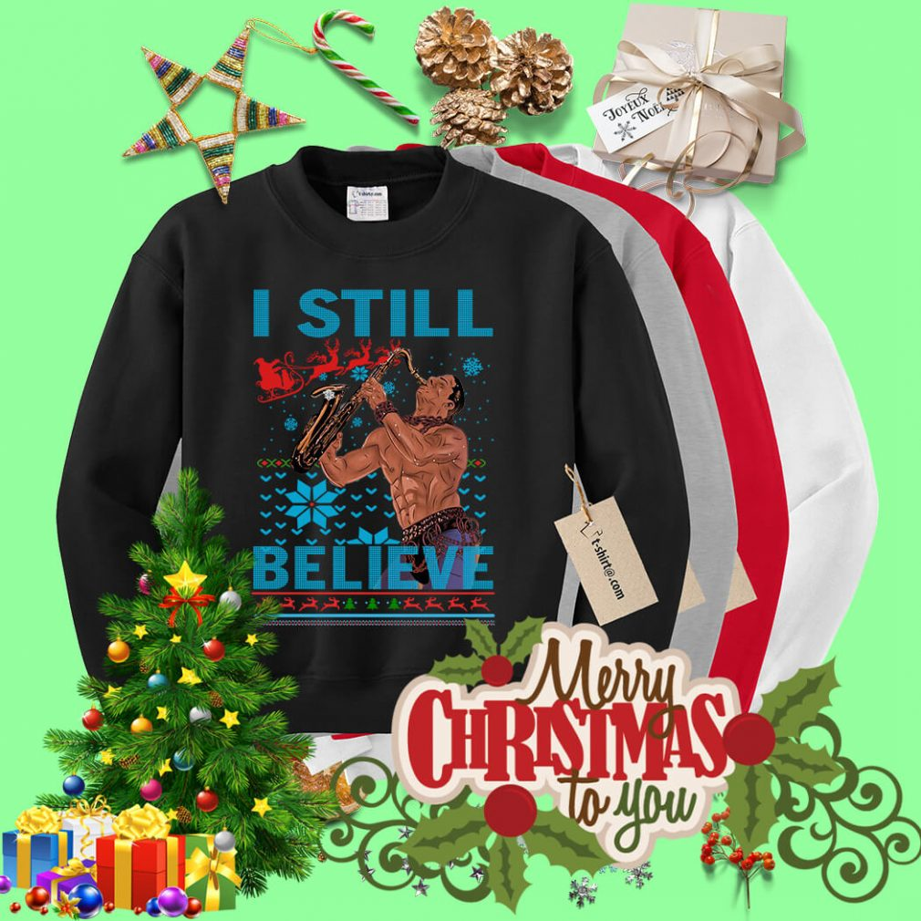 The Lost Boys I still believe ugly Christmas sweater