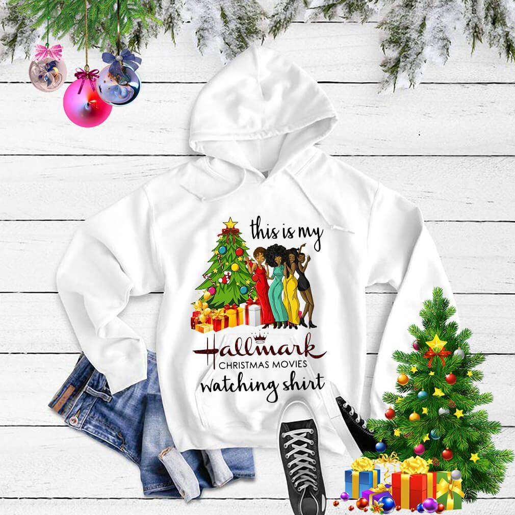 This is my Black girls hallmark Christmas movie watching shirt, sweater