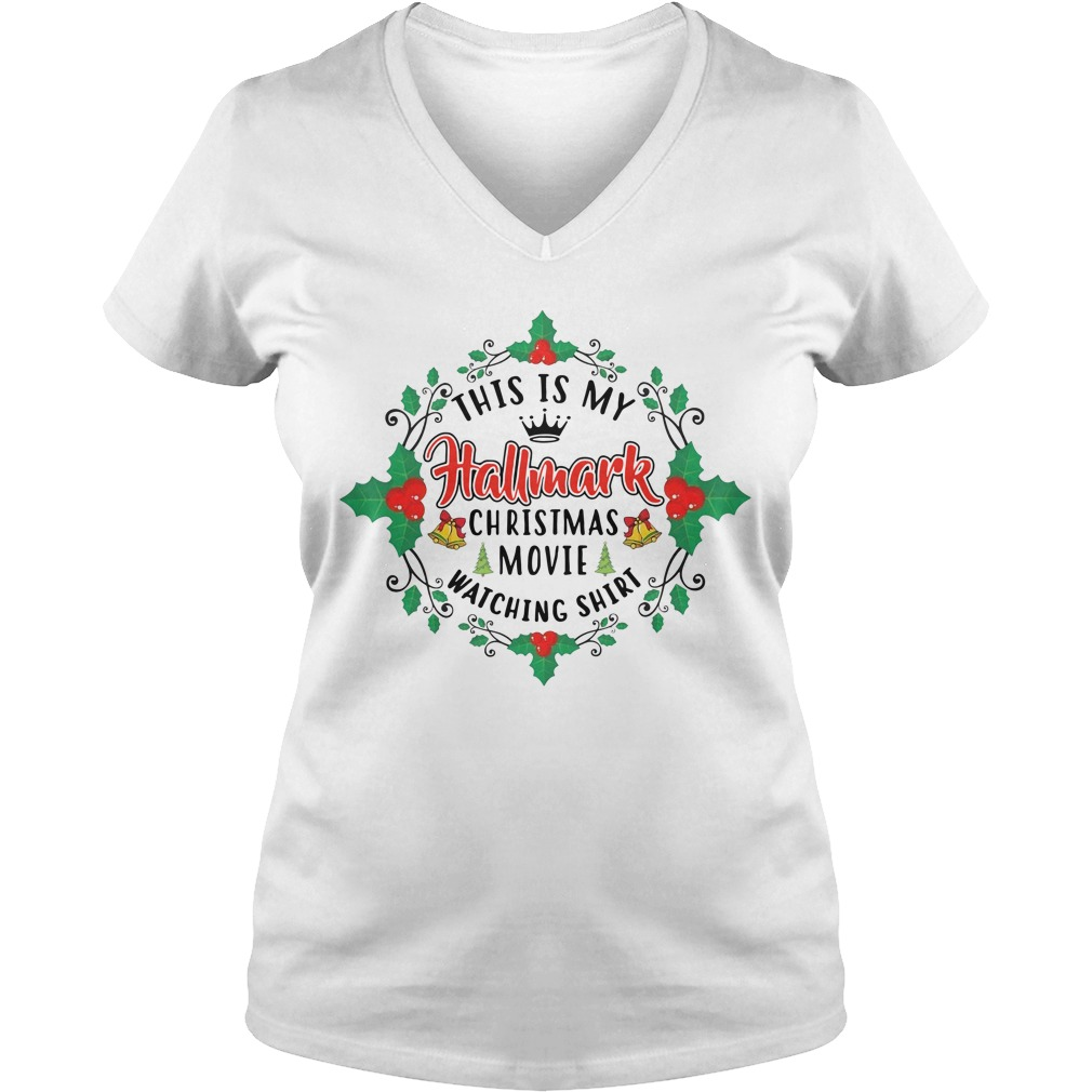 This is my Hallmark Christmas movie Happy New Year V-neck T-shirt