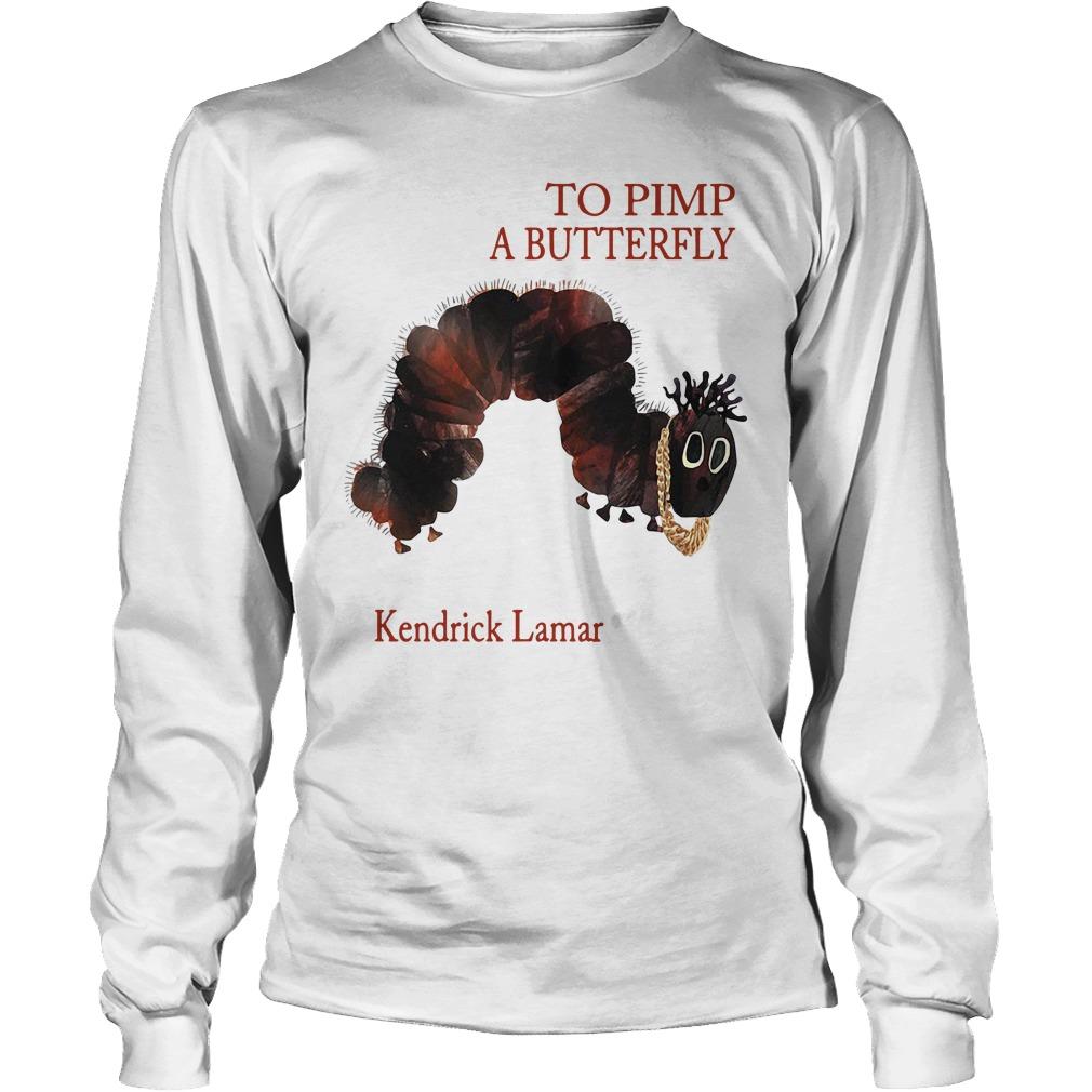 To pimp a butterfly Kendrick Lamar Longsleeve Tee
