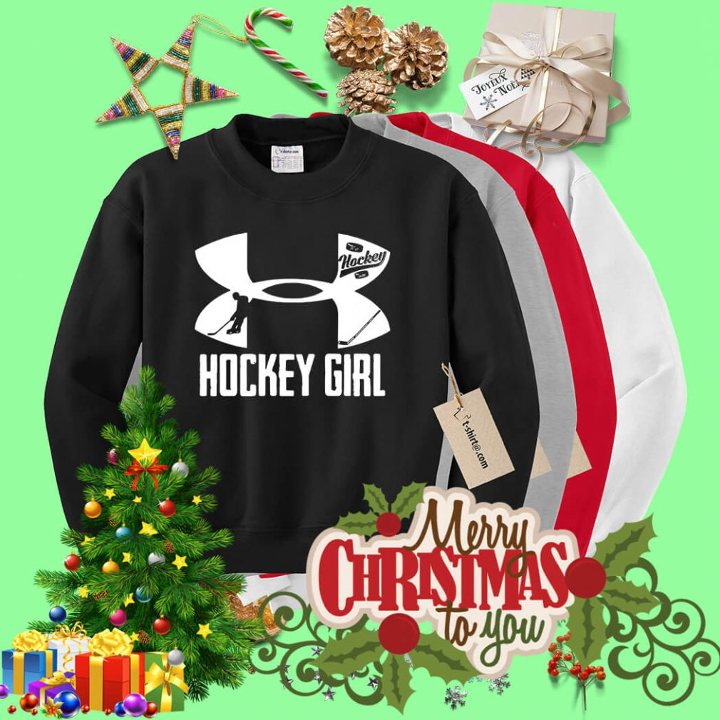 Under Armour hockey girl Sweater