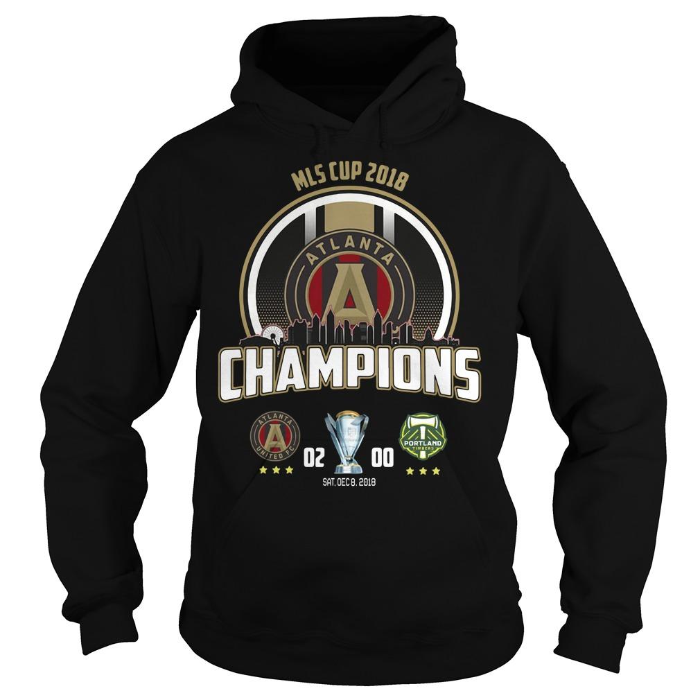 2018 MLS Cup Atlanta united championship Hoodie