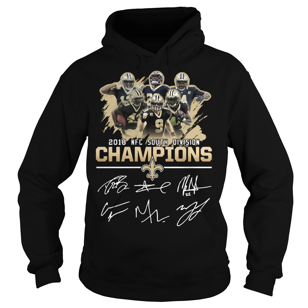 2018 NFC south division champions New Orleans Saints Hoodie