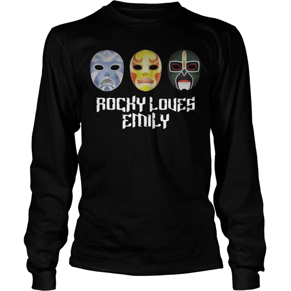 3 Ninjas Rocky loves Emily masks Longsleeve Tee
