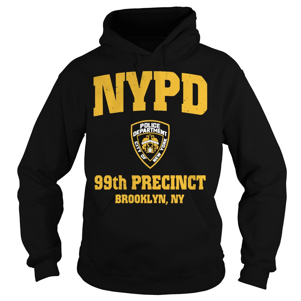 99th Precinct Brooklyn NY Police Department NYPD Hoodie