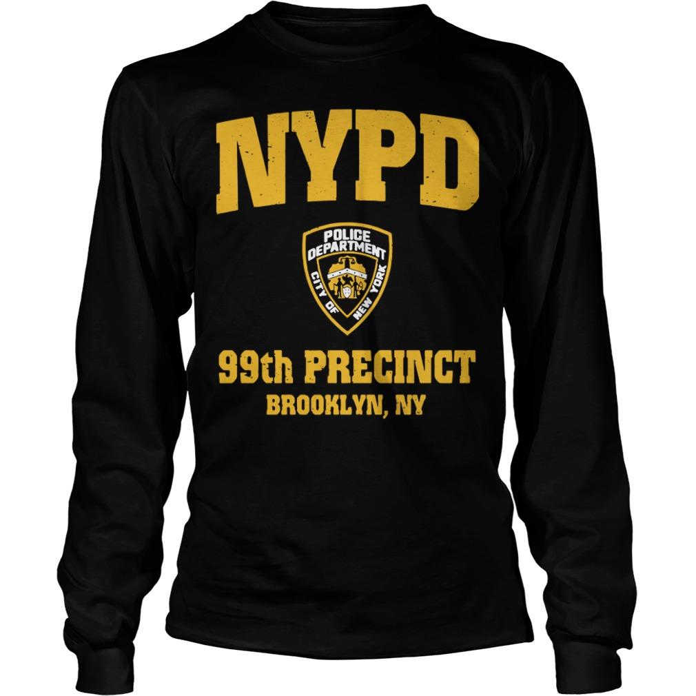 99th Precinct Brooklyn NY Police Department NYPD Longsleeve Tee