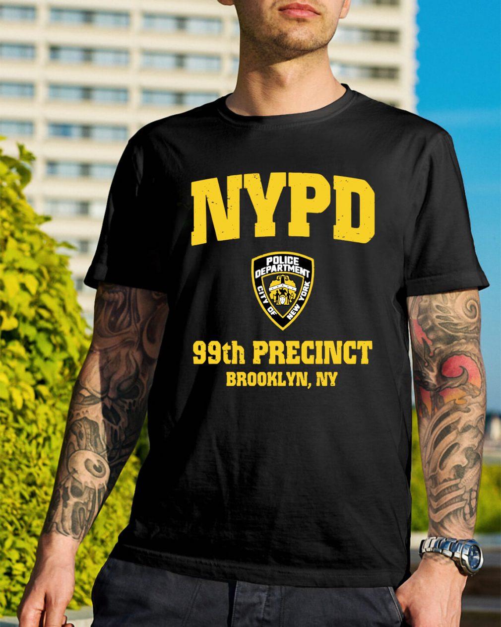 99th Precinct Brooklyn NY Police Department NYPD shirt