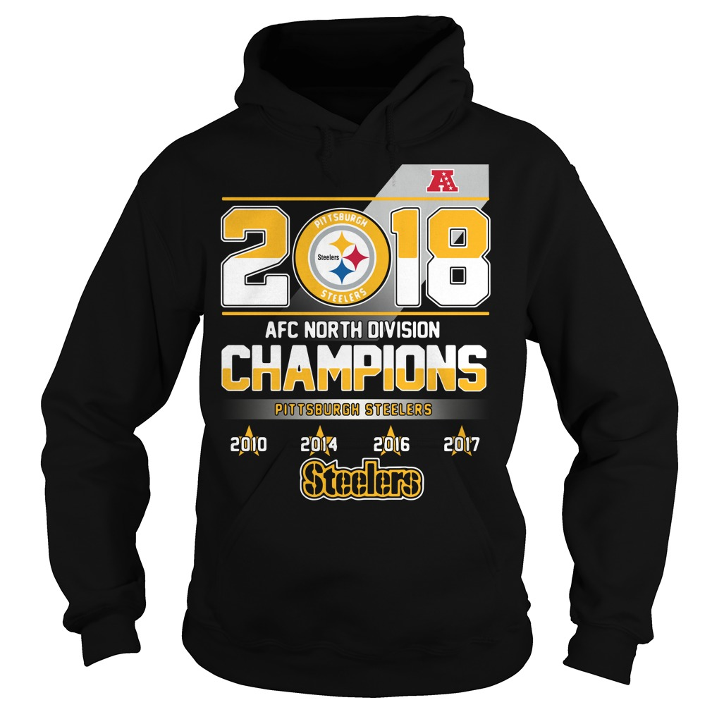 AFC North Division Champions Pittsburgh Steelers Hoodie