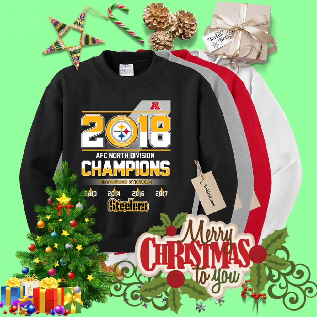 AFC North Division Champions Pittsburgh Steelers Sweater