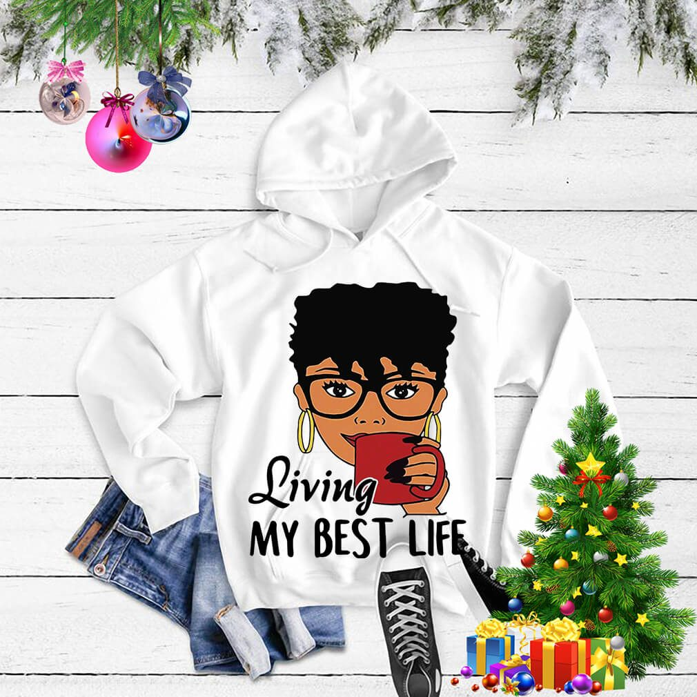 African American Living my best life Sweater