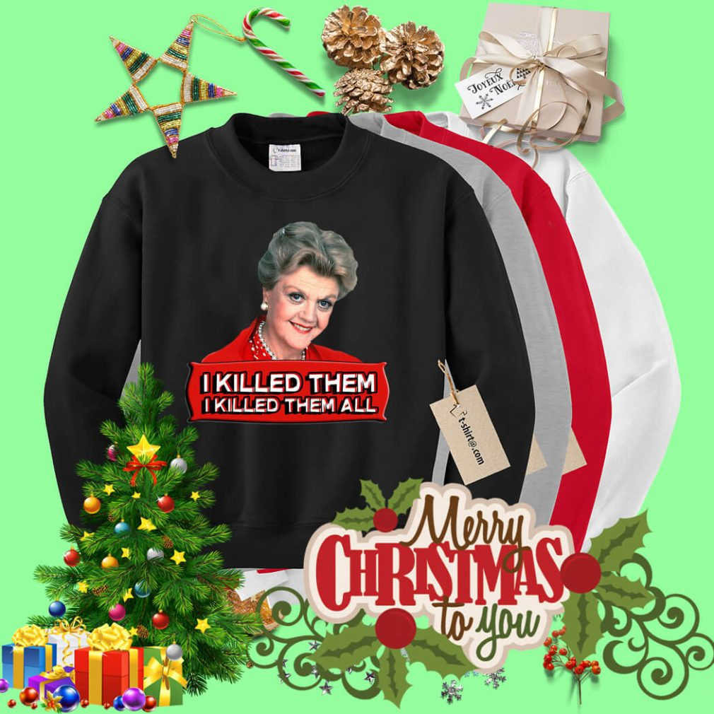 Angela Lansbury I killed them I killed them all Sweater
