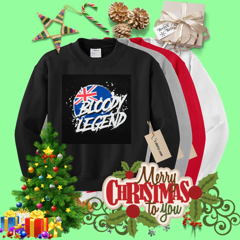 Australian Flag bloody legend Sweater