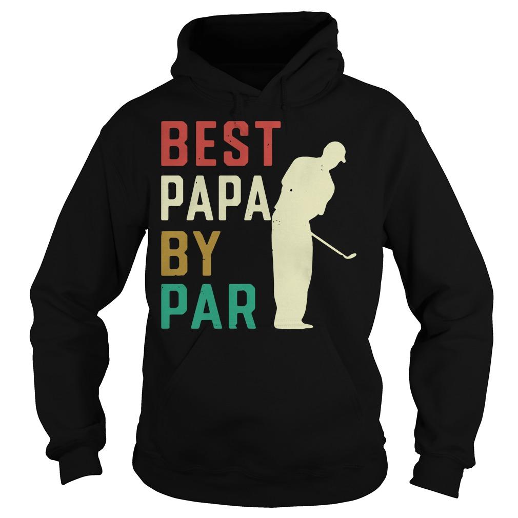 Best Papa by par Hoodie