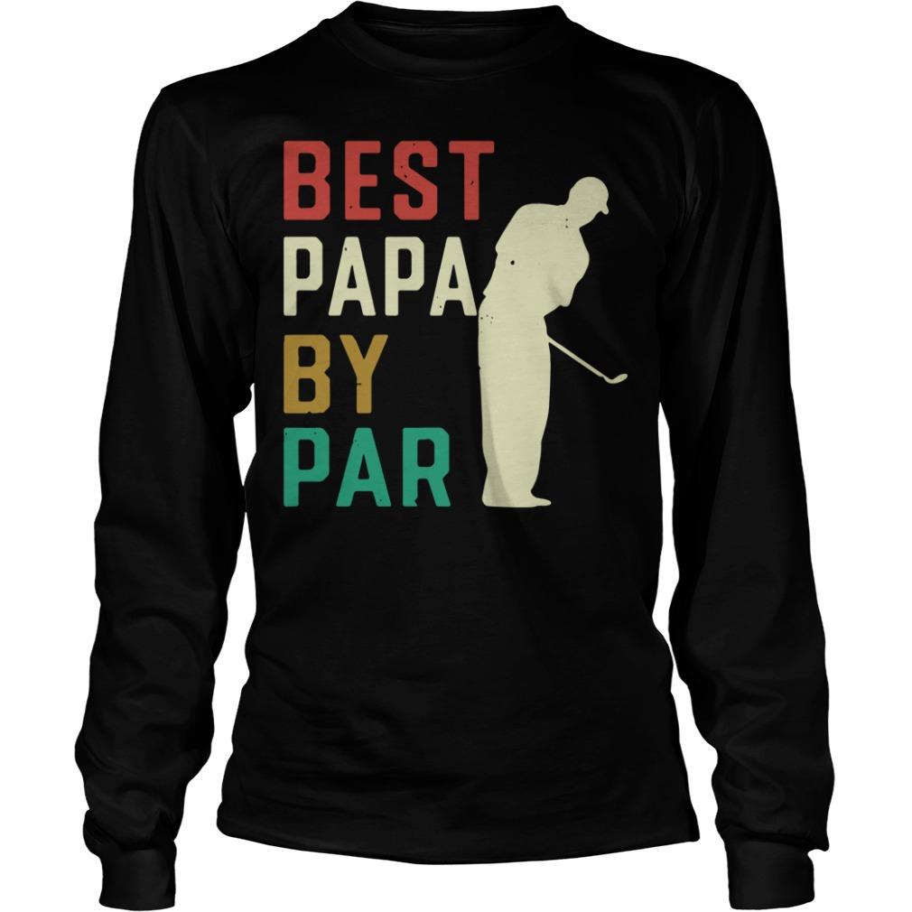 Best Papa by par Longsleeve Tee
