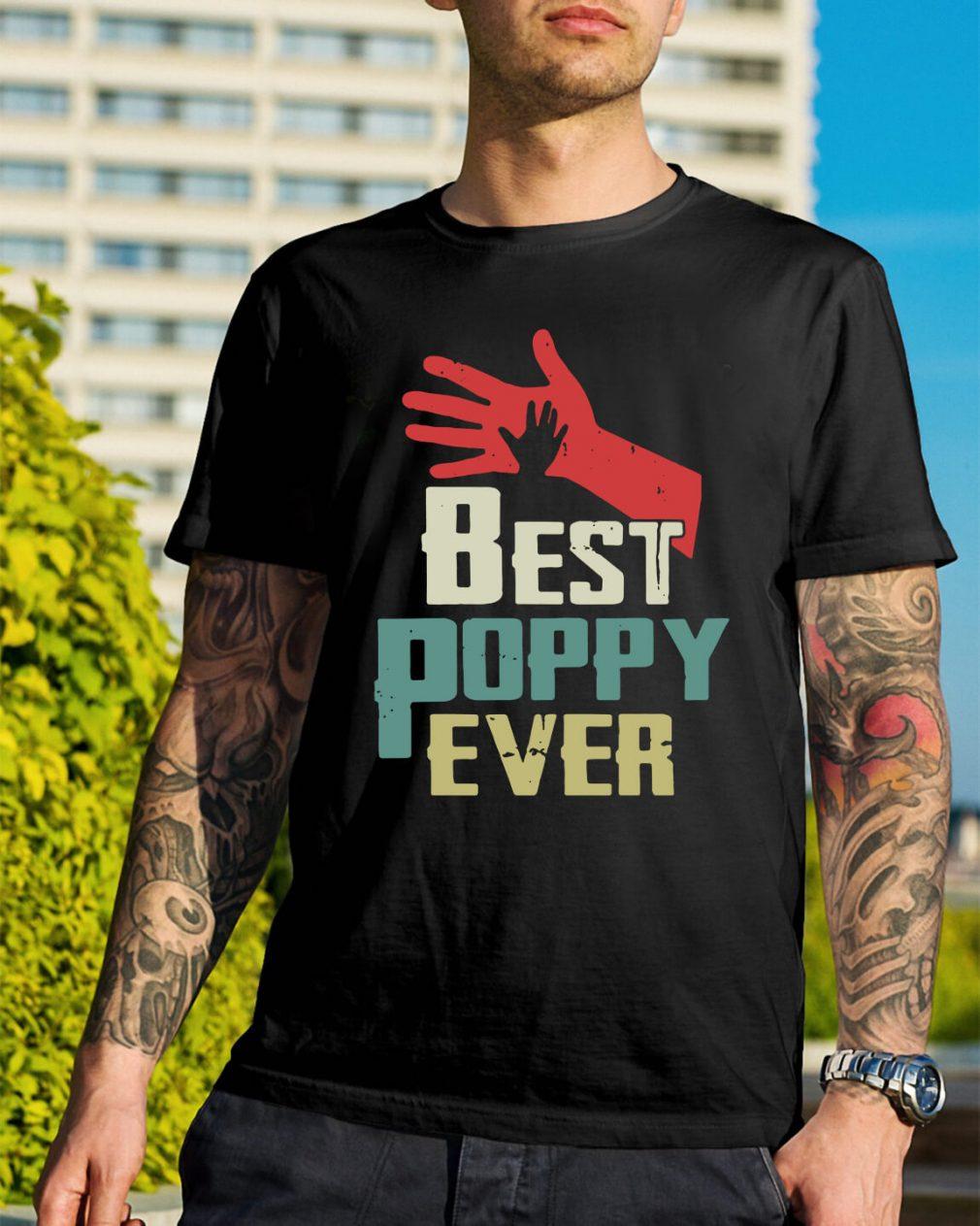 Best Poppy ever shirt
