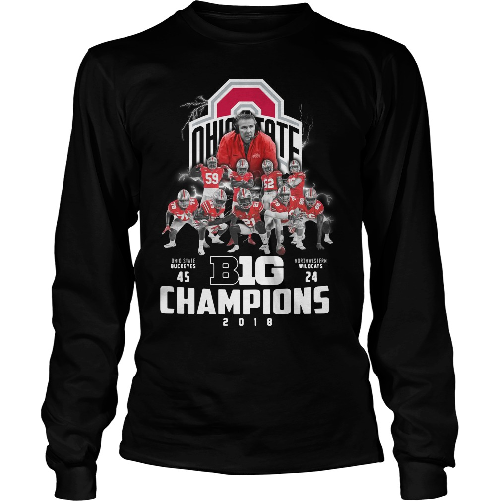 Big Champions Ohio State Buckeyes vs Northern Illinois Longsleeve Tee