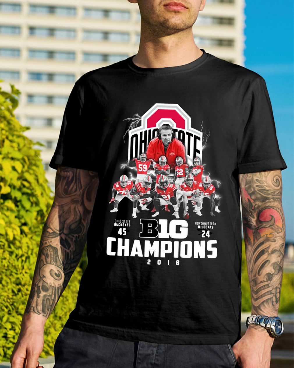 Big Champions Ohio State Buckeyes vs Northern Illinois shirt