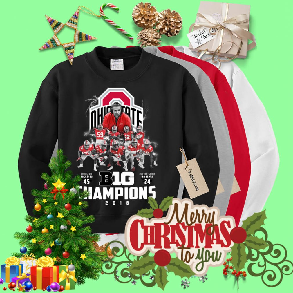 Big Champions Ohio State Buckeyes vs Northern Illinois Sweater
