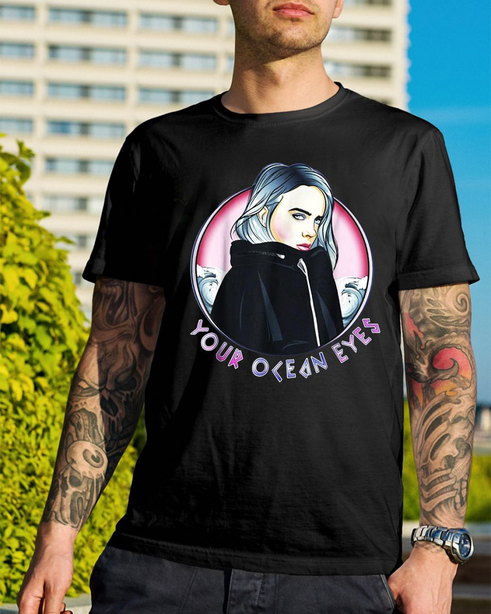 Billie Eilish your ocean eyes shirt