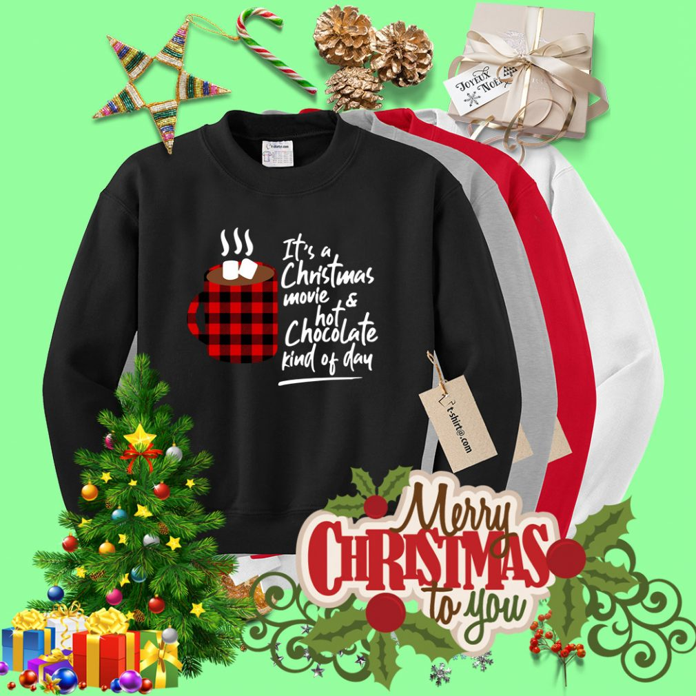 It's a Christmas movie and hot chocolate kind of day Sweater