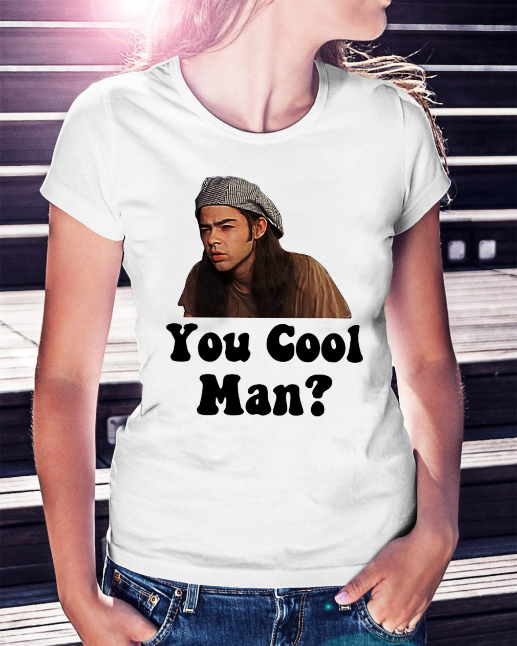 Confused and Dazed you cool man Ladies Tee