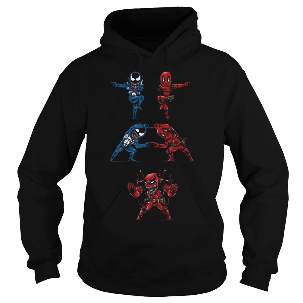 Deadpool Venom fusion Hoodie