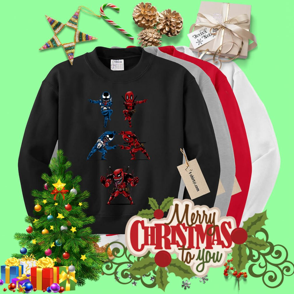 Deadpool Venom fusion Sweater