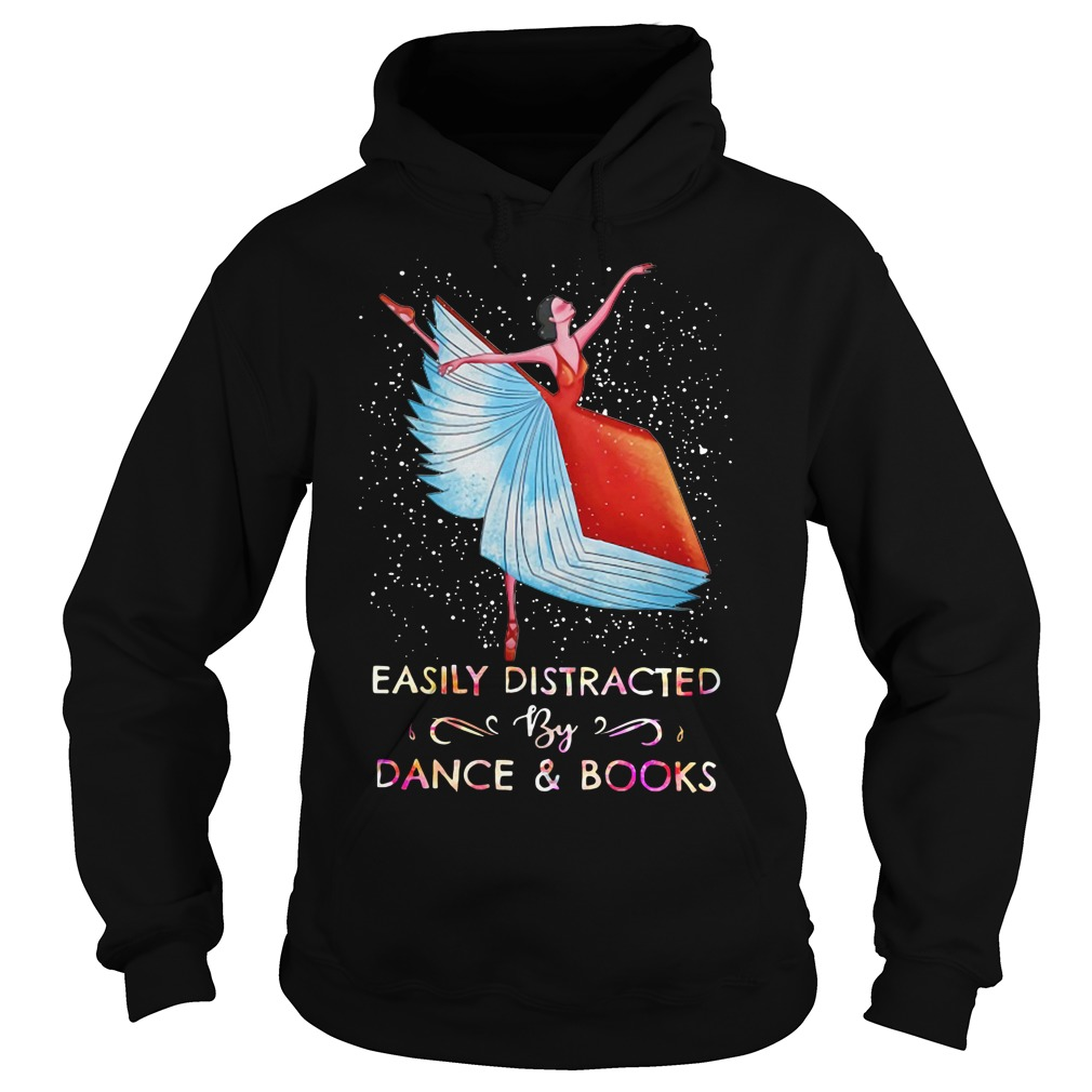 Easily distracted by dance and books Sweater