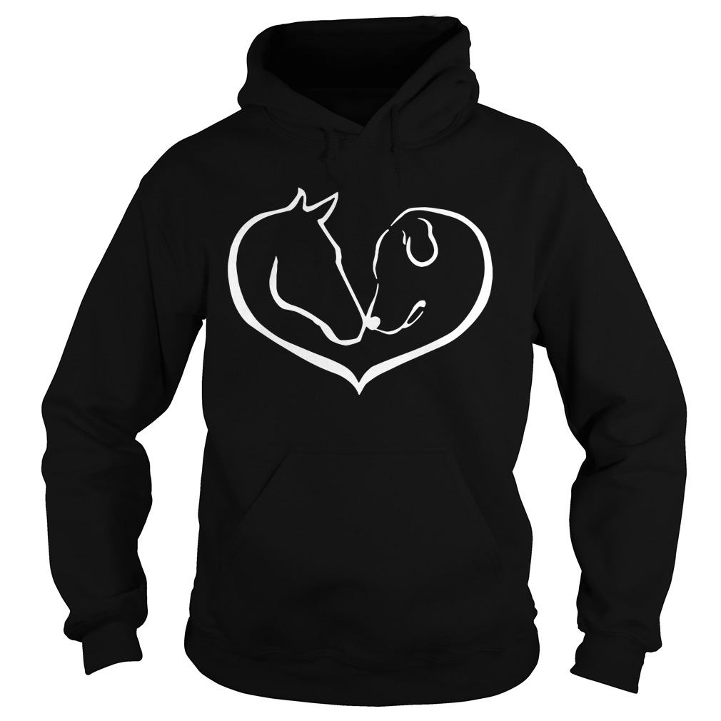 Easily distracted by Horses and dogs Hoodie
